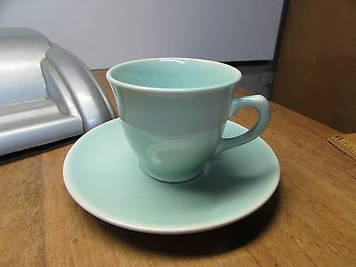 Luray Pastels Taylor Smith & Taylor After Dinner Demitasse Cup Saucer Surf Green