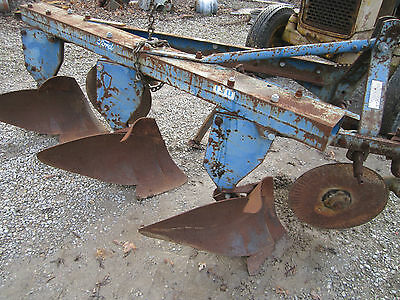 3bottom Ford Model 130 Tractor Plow 3point Hitch