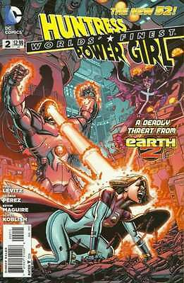 Worlds' Finest (2012 series) #2 in Near Mint + condition. FREE bag/board