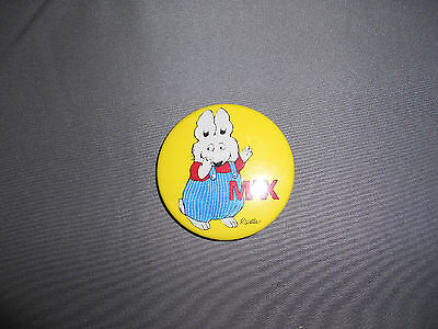 max rabbit rosemary wells pin back button 1998