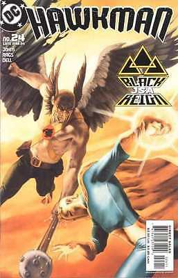 Hawkman (2002 series) #24 in Near Mint + condition. FREE bag/board