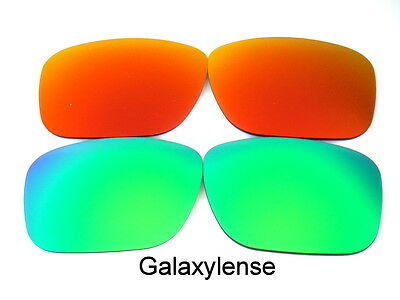 1d4cf1f912 Replacement Lenses For Ray Ban RB4165 Justin Green Red 54mm Polarized 2  Pairs