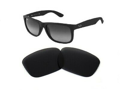 Galaxy Replacement Lenses For Ray Ban RB4165 Justin Black 54mm Polarized