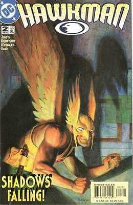 Hawkman (2002 series) #2 in Near Mint + condition. FREE bag/board
