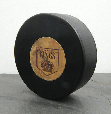 RARE 1968-69 Los Angeles Kings Rubberized Logo Art Ross/Converse NHL Game Puck