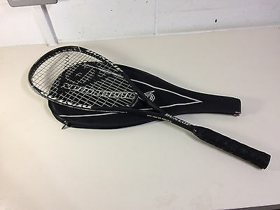 Dunlop Black Max Squash Racket and Carry Case