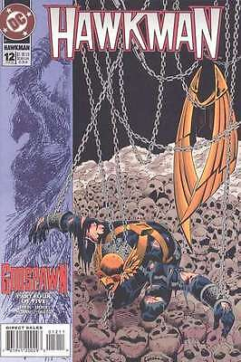 Hawkman (1993 series) #12 in Near Mint + condition. FREE bag/board