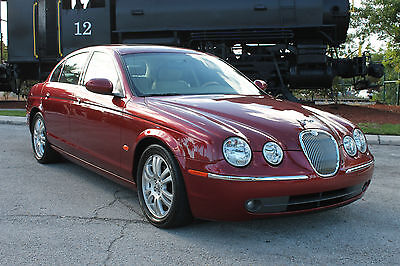 2005 Jaguar S-Type 3.0 Liter Personal Luxury Touring Sedan 2005 Jaguar S-Type-1-owner-Exclusively Florida Owned & Driven-Clean CarFax-NICE!