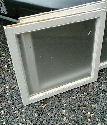 Toilet window frame and glass