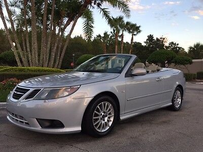 2008 Saab 9-3 2.0T Convertible 2-Door 2008 Saab 9-3 Convertible 76,000 Low Miles 4 CYL TURBO Automatic AC NO RESERVE !