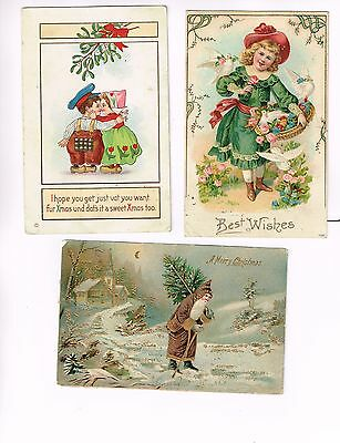 Christmas 'ugly' Sweater Post Cards Free Ship