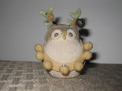 Foundations Owl reindeer Figurine enesco