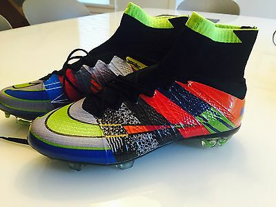 New Nike Mercurial Superfly What The soccer cleats, size 6.5, limited edition