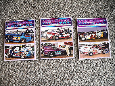 Lot Of 3 1989 Modified Country Magazines - Flemington Fair Speedway