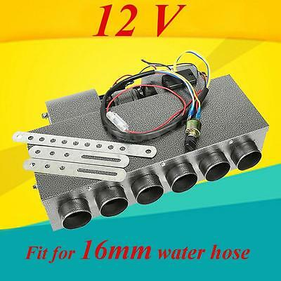 Car Underdash Compact Air Conditioning Heater 12V 8A with Speed Switch Kit