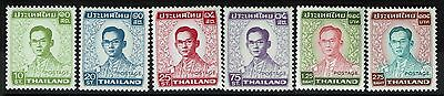 Thailand SC# 605-610, Mint Never Hinged, 609 vertical crease -  Lot 010817