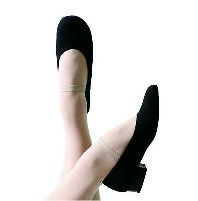 NEW Energetiks Black Canvas Character Low Heel Dance Shoes Size 4.5