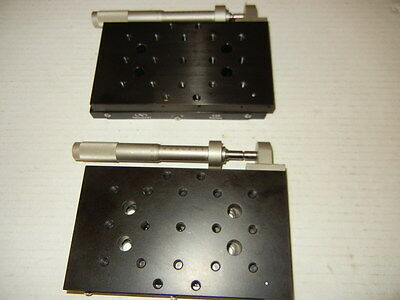 "Newport 436 Linear Translation Stage With Newport SM-50 Micrometer 3.5"" X 6"""