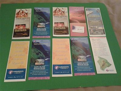 HAWAIIAN AIRLINES brochure lot hawaii