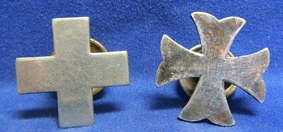 WWI Army Medical Corps Nurse Cadet Insignia Lot Of 2