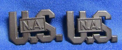 WWI U.S.N.A. National Army Officer Insignia Set GREAT CONDITION