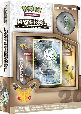 NEW Pokemon Mythical Pokemon Collection - Meloetta Pin Box from Mr Toys Toyworld