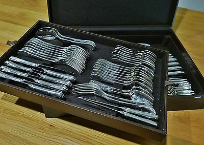 Christofle 74 Piece Silver  Plated Canteen of Cutlery