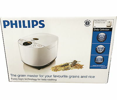 Philips Grain Master 10 Cup Rice Cooker HD4514/72