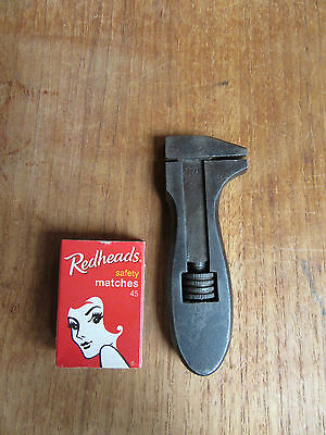 Vintage King Dick Adjustable Spanner - Old Hand Tool - Mini Wrench -England Made