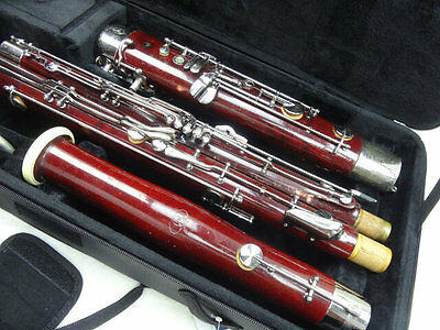 Fox Model II Professional Wood Bassoon, Overhauled, Great Dark Tone+New Pads!