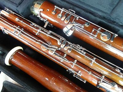 Fox Renard Model 222 Wood Bassoon, Overhauled & Adjusted, + new Protec Case