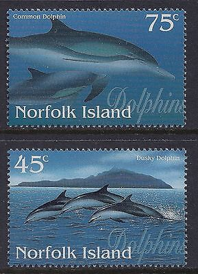 Norfolk 1997 Dolphins MNH