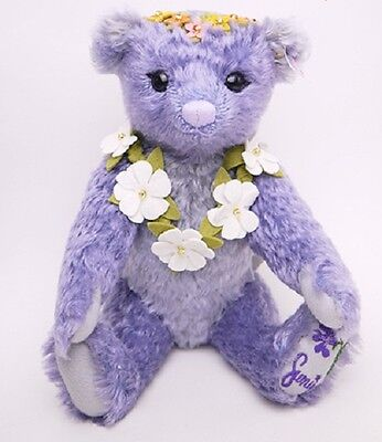NEW flower series Steiff teddy bear 2015 Japan limited 1500 pieces only RARE