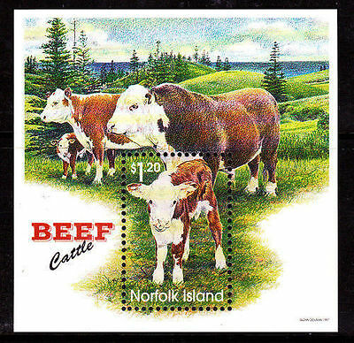 Norfolk 1997 Beef Cattle MS MNH