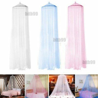 New Elegant Round Lace Insect Bed Canopy Netting Curtain Dome Mosquito Net FE