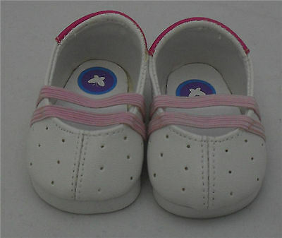 White/Pink Dress Shoe, Doll Shoes 4 Baby Alive / Baby Born