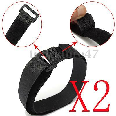 2PCS 20x450mm Nylon Tie Down Straps Cam Buckle Wrap Band luggage Suitcase Strap