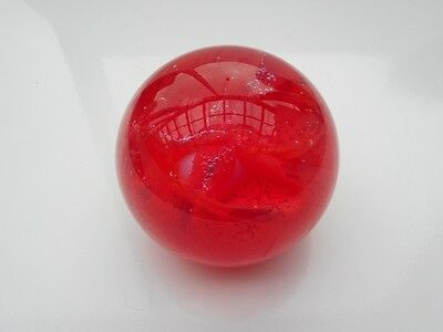 """Caithness Glass Of Scotland Glass Paperweight  """"inferno"""""""
