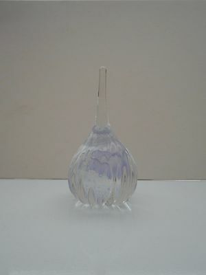 """Caithness Glass Of Scotland Paperweight  """"misty"""" Ring Stand."""