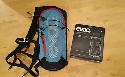 Evoc CC 3L mtb enduro mountain bike Backpack with new 2l bladder.