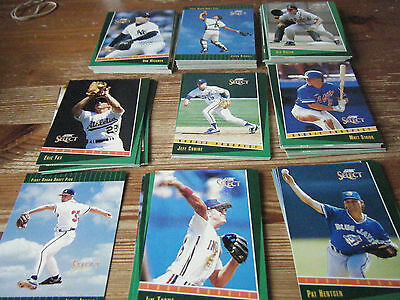 Complete  Set Of  405   Score Select  1993   American  Baseball Cards  Mint