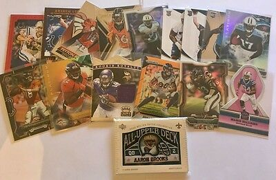 NFL Trading Cards Rookies And Inserts 16 Card Lot