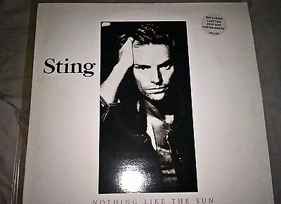 Sting ‎– ...Nothing Like The Sun - 2LP