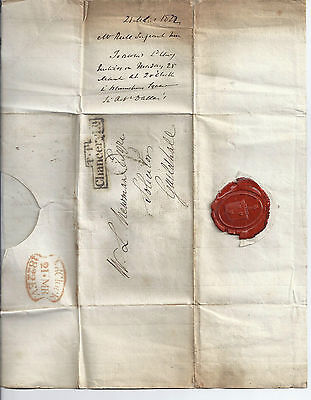 1822 Entire witn Chancery Lane TP boxed strike