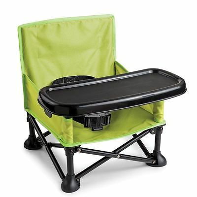 Summer Infant Pop 'N' Sit Portable Booster Seat Upto 15kg 3Years Unisex BPA Free