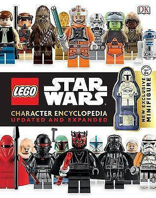Lego Star Wars Character Encyclopedia Updated and Expanded by DK Hardback