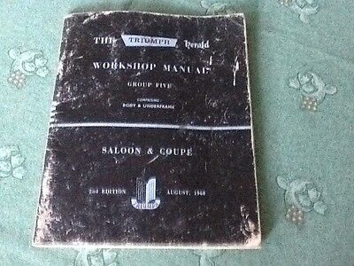 Workshop Manual For Triumph Herald