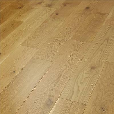Engineered Oak Flooring - Natural UV Lacquered - 14mm x 3mm x 180mm- Sample
