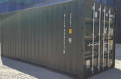 NEW 20' Shipping Containers For Sale