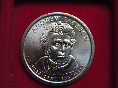 A One Dollar Coin From The Usa To Commemorate  Andrew Jackson 1829-1837